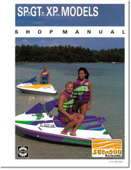 1991 SeaDoo SP, GT, XP Shop Manual
