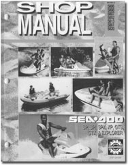 1993 SeaDoo SP, SPX, SPI, XP, GTS, GTX, Explorer Service/Shop Manual