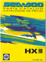 1995 SeaDoo HX Parts Catalog