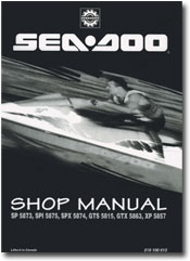 1995 SeaDoo Shop Service Manual