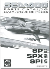 1995 SeaDoo SP, SPX, SPI Parts Catalog