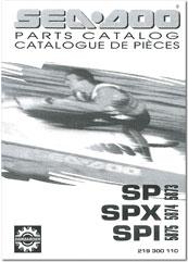 1995 SeaDoo SP, SPX, SPI Parts Catalog