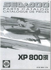 1995 SeaDoo XP 800 (5856) Parts Catalog