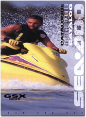 1996 SeaDoo GSX (5620) Parts Catalog - FREE PDF Download!