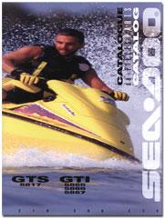 1996 SeaDoo GTS, GTI Parts Catalog