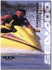 1996 SeaDoo GTX (5640) Parts Catalog