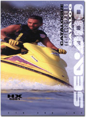1996 SeaDoo HX (5881) Parts Catalog