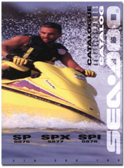 1996 SeaDoo SP, SPI, SPX Parts Catalog