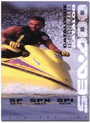 1996 SeaDoo SP, SPI, SPX Parts Catalog