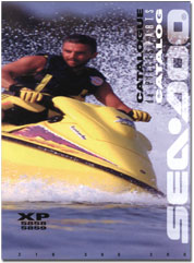 1996 SeaDoo XP (5858,5859) Parts Catalog