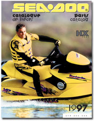 1997 SeaDoo HX (5882) Parts Catalog