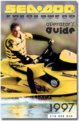 1997 seadoo sp spi spx gti gts hx xp operator s guide free rh seadoomanuals net Sea-Doo Jet Ski Troubleshooting Sea-Doo Jet Ski Parts