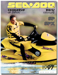 1997 SeaDoo SP (5879), SPX (5834,5661) Parts Catalog