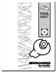 1997 SeaDoo Tool Booklet