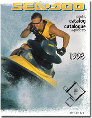 1998 SeaDoo GS Parts Catalog