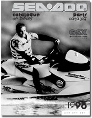 1998 SeaDoo GSX Limited (5625) Parts Catalog