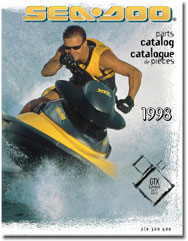 1998 SeaDoo GTX Limited (5837,5842) Parts Catalog