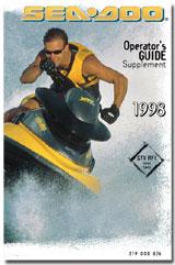 1998 SeaDoo GTX RFI Operator's Guide