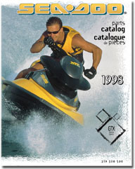 1998 SeaDoo GTX RFI Parts Catalog