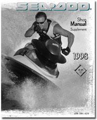1998 SeaDoo GTX RFI (5666,5843) Service/Shop Manual Supplement