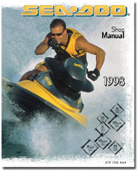 1998 SeaDoo GS, GSX Limited, GTS, GTI, GTX Limited, SPX, XP Limited Service/Shop Manual