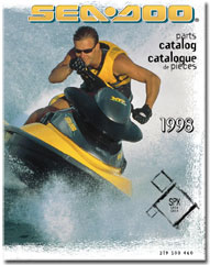 1998 SeaDoo SPX Parts Catalog