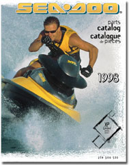 1998 SeaDoo XP Limited Parts Catalog