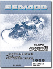 1999 SeaDoo GSX Limited Parts Catalog