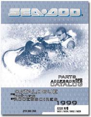 1999 SeaDoo GSX RFI Parts Catalog