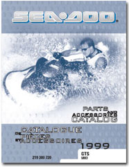 1999 SeaDoo GTS Parts Catalog
