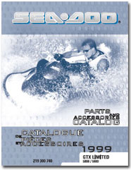 1999 SeaDoo GTX Limited Parts Catalog