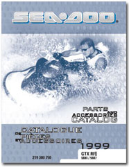 1999 SeaDoo GTX RFI Parts Catalog