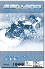 1999 SeaDoo GS, GSX Limited, GSX RFI, GTI, GTS, GTX Limited, GTX RFI, SPX, XP Limited Operator's Guide