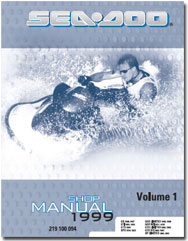 1999 SeaDoo GS, GSX RFI, GTI, GTS, GTX RFI, SPX, XP Shop Manual