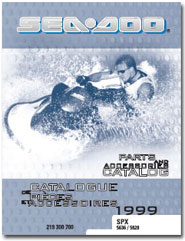 1999 SeaDoo SPX Parts Catalog