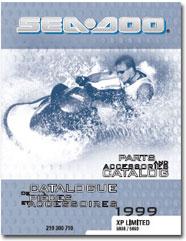 1999 SeaDoo XP Limited Parts Catalog