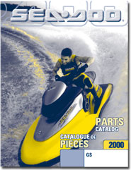 1999 SeaDoo GS Parts Catalog