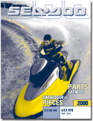 2000 SeaDoo GSX RFI Parts Catalog