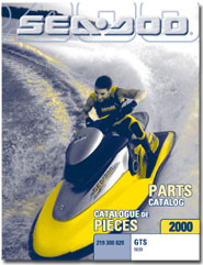 2000 SeaDoo GTS Parts Catalog