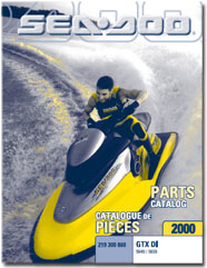 2000 SeaDoo GTX DI Parts Catalog
