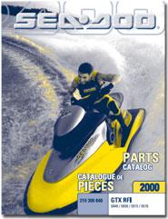 2000 SeaDoo GTX RFI Parts Catalog