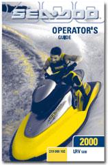2000 SeaDoo LRV Operator's Guide