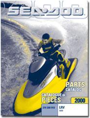 2000 SeaDoo LRV Limited Parts Catalog