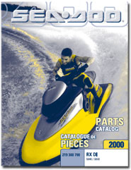 2000 SeaDoo RX DI Parts Catalog