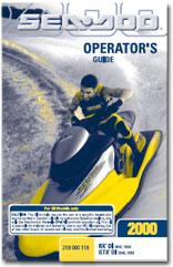 2000 SeaDoo RX DI, GTX DI Operator's Guide