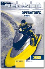 2000 SeaDoo RX Operator's Guide