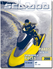 2000 SeaDoo XP (5651,5655) Parts Catalog