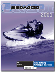 2001 SeaDoo GS Parts Catalog