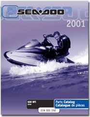2001 SeaDoo GSX RFI Parts Catalog