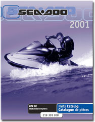 2001 SeaDoo GTX DI Parts Catalog